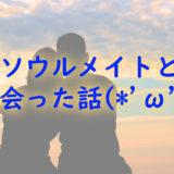 【スピリチュアル的な…】ソウルメイトと出会った話(*´ω`*)